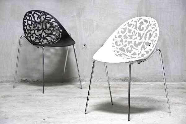 Galeria Biznesu Krzes O Zara White Planeta Design Meble